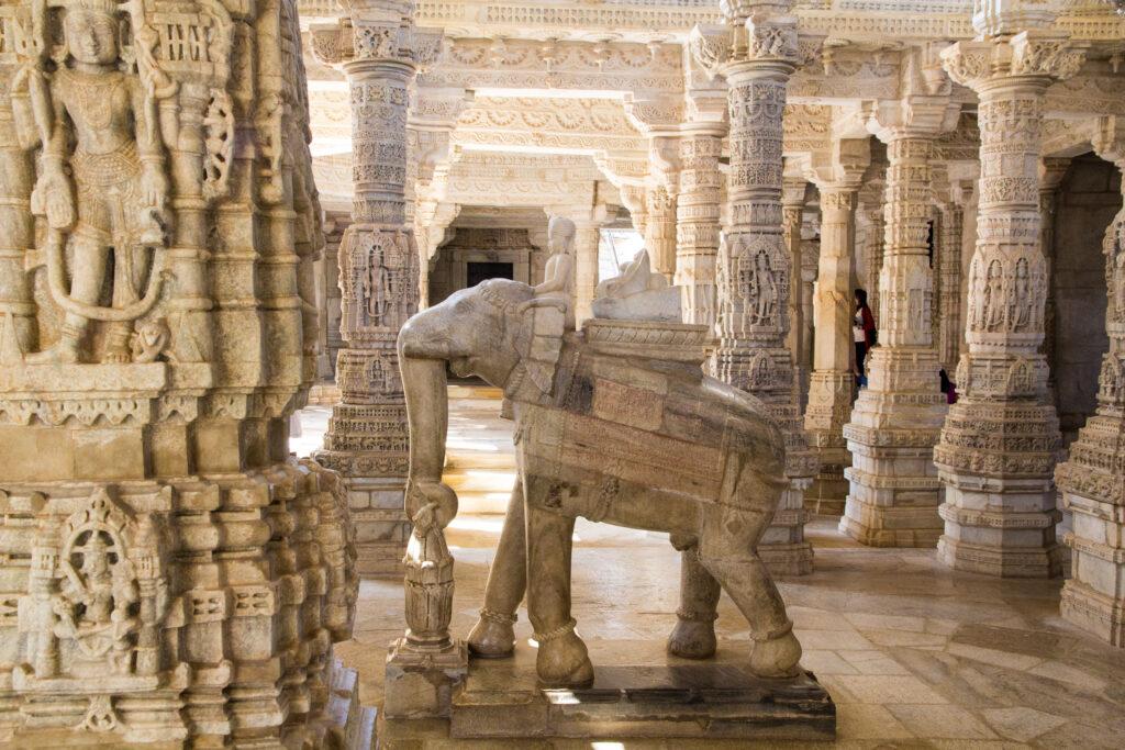 Detalle Templo de Adinatha