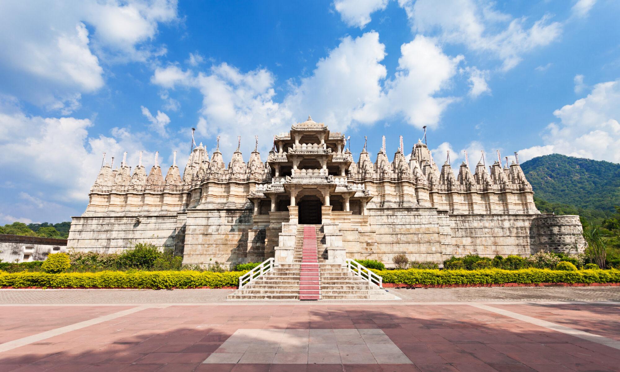 India - Templo de Adinatha en Rajastán